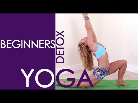 Beginners Yoga Detox Full Class with Kino