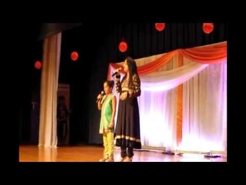 Poojaa & Sunidhi's performance at Taste of India 2014