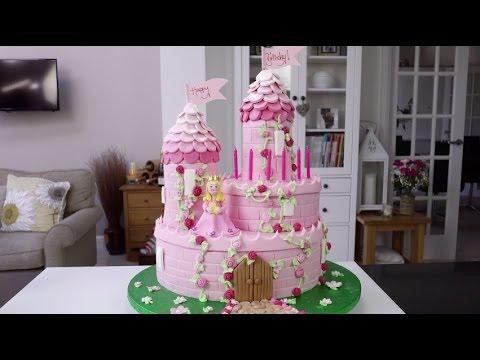 Торт в стиле принцессы своими руками 99