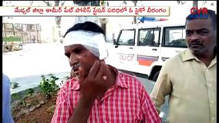 Psycho Hulchul At Shamirpet Police Station | Peoples Injured | Medchal | CVR News - CVRNEWSOFFICIAL