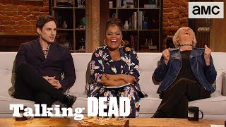 'Cannibal Leader to the Truest Believer' Ep. 812 Fan Questions | Talking Dead - AMC