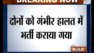 Gurugram: CJM's wife, son shot at by his gunman, condition critical - INDIATV
