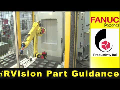 M-10iA Loads Machine Tool - FANUC Robotics Industrial Automation