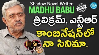 Shadow Novel Writer Madhu Babu Exclusive Interview || Dil Se With Anjali #37 - IDREAMMOVIES