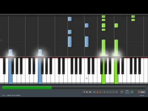 Linkin Park - Iridescent - Adrian Lee Version (piano tutorial with sheet music)