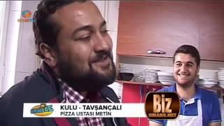 Tavsançali Pizza Ustası Metin Kayhan KON TV'de