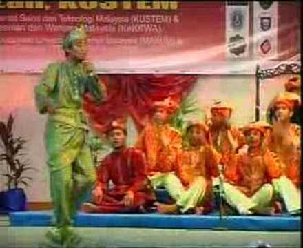 Pertandingan Dikir Barat Makum 2006 - Final UKM vs UM part 4