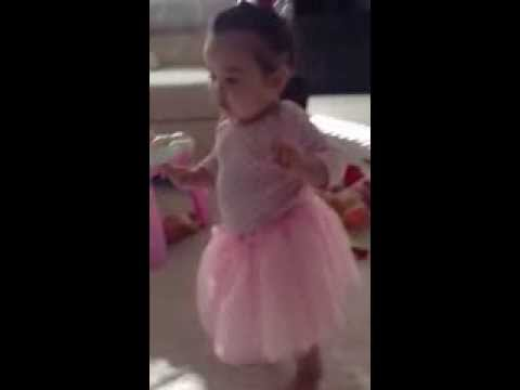 My Ballerina is walking today!