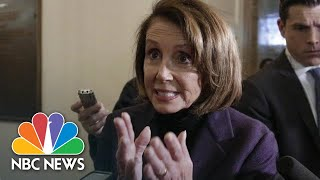 Nancy Pelosi: President Donald Trump 'Outing' Afghanistan Trip Is Very Dangerous | NBC News - NBCNEWS