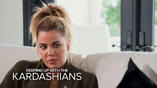 KUWTK | Khloé Kardashian & Malika Haqq Fight to Save Friendship | E! - EENTERTAINMENT