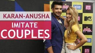 Karan & Anusha play different couples - TELLYCHAKKAR