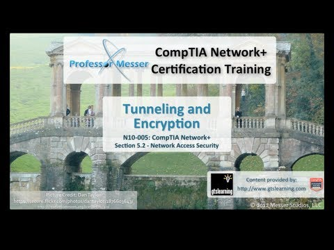 Tunneling and Encryption - CompTIA Network+ N10-005: 5.2