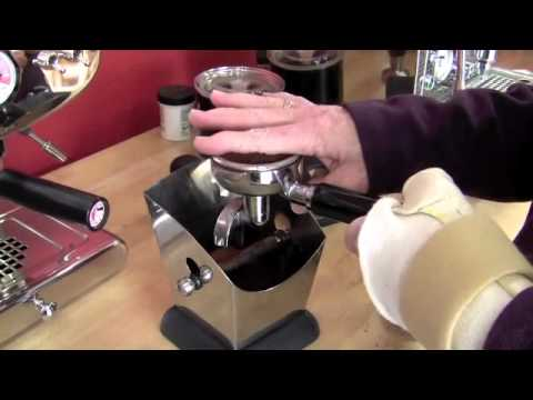 Espresso Tamping Technique Updated