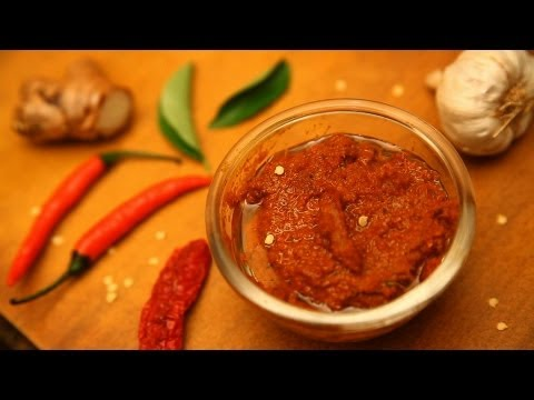 How To Make Thai Red Curry Paste By Arina