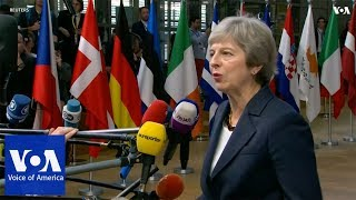 British Prime Minister Theresa May says Brexit deal is achievable - VOAVIDEO
