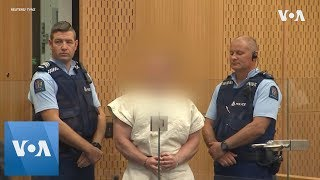 New Zealand Mosque Shootings Suspect Appears in Court - VOAVIDEO