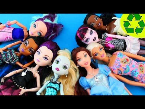 Cómo hacer la joyería para muñecas: collares, pulseras y pendientes