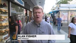 Brazilians protest against leader amid oil scandal - ALJAZEERAENGLISH