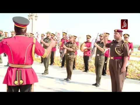 صاحب السمو الشيخ سعود بن صقر القاسمي يشهد رفع علم الدولة احتفالا بيوم العلم