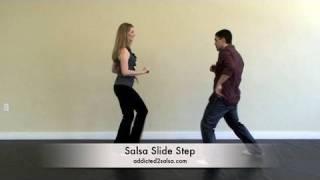Salsa Slide Dance Step