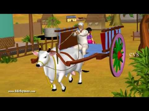 Learn Telugu Vahanamulu - Vehicles - Telugu 3D Animation Nursery rhymes for children