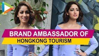 ADORABLE YAMI GAUTAM became the brand ambassador of HONGKONG tourism - HUNGAMA