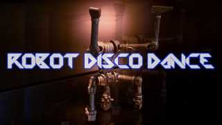 Royalty Free :Robot Disco Dance