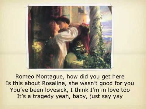 "Taylor Swift parody ""tragedy story"": the real ""love story"" of Romeo and Juliet"