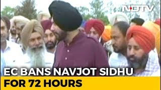Navjot Sidhu Barred From Campaigning For 72 Hours For Violating Poll Code - NDTV