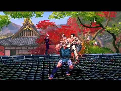 Street Fighter x Tekken E3 Gameplay Video 1