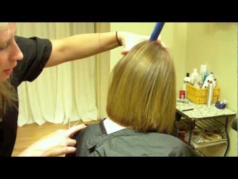 Layered Bob Haircut with Texture: Hair Tutorial