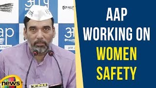 AAP Working On Women Safety But Why Is Congress Getting Restless Like BJP | Mango News - MANGONEWS
