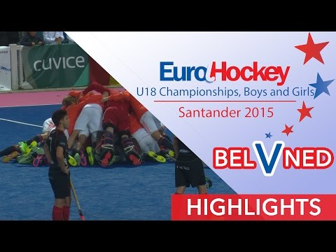 Belgium v Netherlands - EuroHockey U18 Men