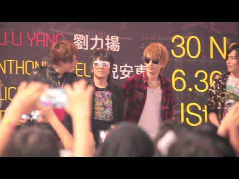 [FANCAM] 121130 Alice Nine - Sundown Festival Fanmeet @ JCUBE