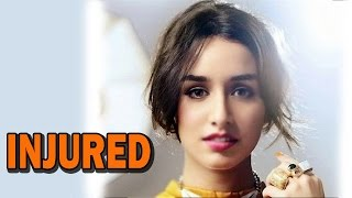 Shraddha Kapoor injured while shooting for ABCD 2 movie | Bollywood News