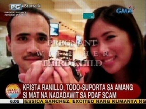 UB: Krista Ranillo, todo-suporta sa amang si Mat na nadadawit sa PDAF scam