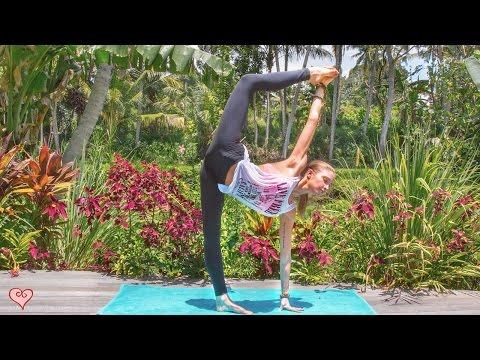 Yoga For Leaner Legs ♥ Strength, Tone & Balance | Ubud Yoga