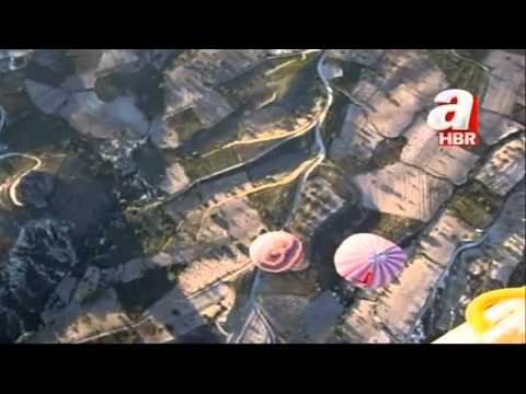 Turkey hot air balloon crash filmed from above