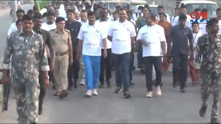 Khammam Collector RV Khanan Participated in 2K Run, Voters Awareness Programs | CVR News - CVRNEWSOFFICIAL