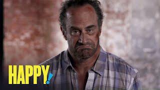 HAPPY! | Chris Meloni Is Nick Sax | SYFY - SYFY