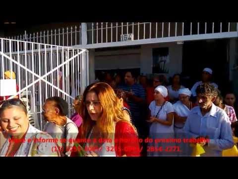 Pai Francisco Borges apresenta a sua gira de umbanda, parte 01.