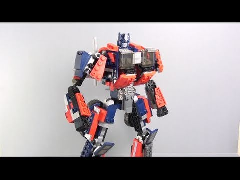 Video Review of the Kre-O Transformers; Optimus Prime
