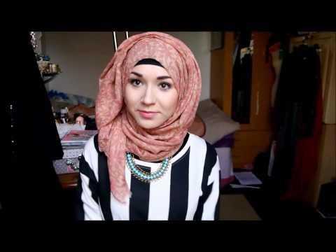 hijab tutorial 2014 - tuto hijab 2014 - لفات حجاب عصرية 2014