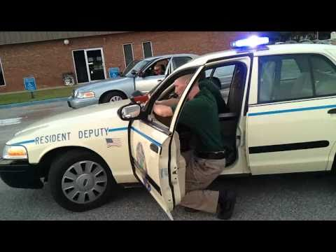 LCSD Explorers High Risk Traffic Stop Training
