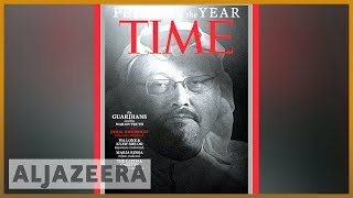 📰Time honours Khashoggi, journalists as Person of the Year | Al Jazeera English - ALJAZEERAENGLISH