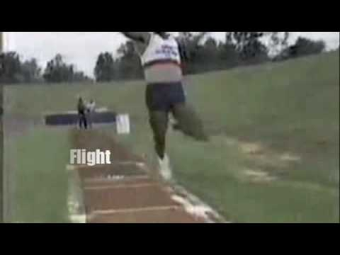 The Long Jump , How to improve your long Jump Technique