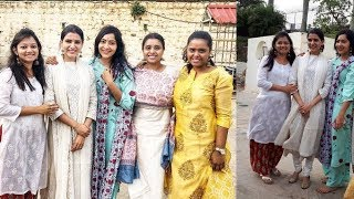 Actress Samantha Akkineni Visits Tirumala With Her School Friends On Friendship Day - RAJSHRITELUGU