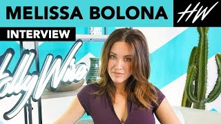 Melissa Bolona Is Crushing On Someone in Coldplay & Tells Us Crazy Nicolas Cage Story! | Hollywire - HOLLYWIRETV