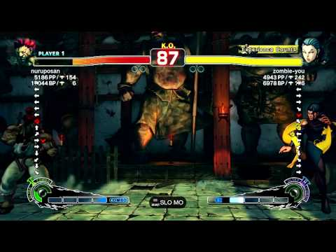 SSF4 AE Ver. 2012: PSN Ranked Matches - 1-13-2012