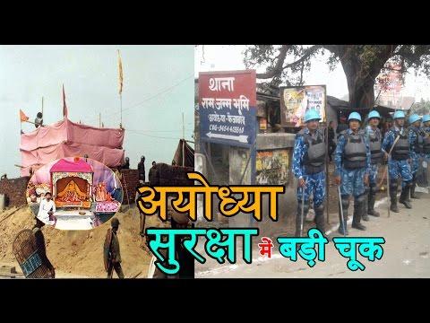 राम जन्मभूमि की सुरक्षा में बड़ी चूक, बाबरी मस्जिद पक्षकार भड़के | Ayodhya Issue |